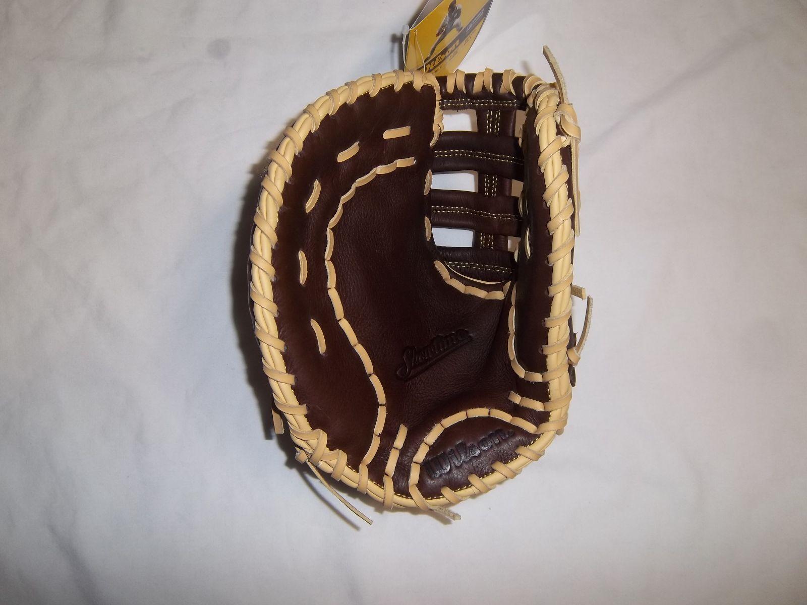 Guante De Béisbol Wilson base WTA08BLB16BM1ST reproductor de LH (va en la mano derecha)
