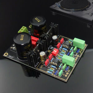 MM-MC-Phono-Turntable-Pre-amplifier-Preamp-Refer-Dual-Phono-Preamplifie-Finished