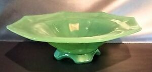 Imperial-Glass-Spring-Green-Spinach-Jade-Flared-Centerpiece-Bowl-4-Arching-Feet
