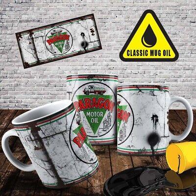 Premium Rétro Audi Motor Racing huile peut Mug Thé Tasse à café