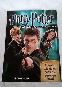 DeAgostini-Harry-Potter-SCHWARZER-BAUER-Schachkurs-Zaub-Ausgabe-9-15-19-29-SPIEL