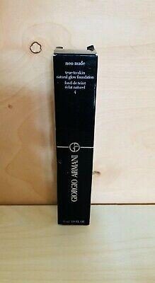 Giorgio Armani Neo Nude True To Skin Natural Glow Foundation - 1.8oz/35ml -NIB   eBay