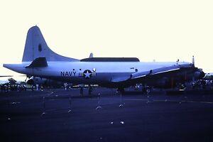2-33-Lockheed-EP-3-United-States-Navy-at-Dusk-Kodachrome-SLIDE