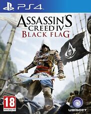 PS4 PlayStation 4 Assassin's Creed IV: Black Flag Brand New Sealed Game