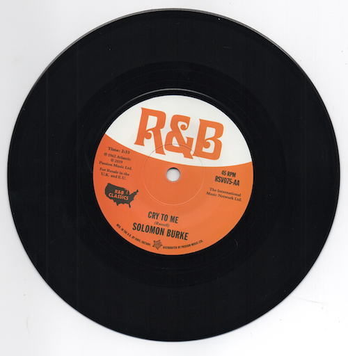 SOLOMON BURKE Cry To Me / MEL TORME Comin' NEW R&B NORTHERN SOUL 45 (Outta Sight
