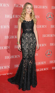 6000-DOLCE-amp-GABBANA-FLORAL-LACE-DRESS-MAXI-EVENING-GOWN-FISHTAIL-BLACK-40-4-6