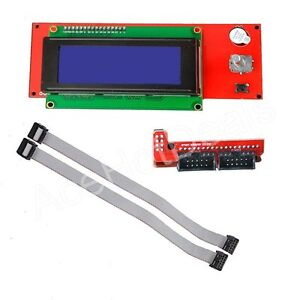 New-3D-Printer-RAMPS-1-4-2004-LCD-Display-Controller-With-Adapter-For-Reprap-Men