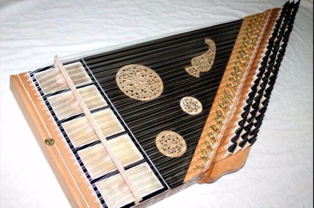 Egyptian Kanoon Kanun handcraft 78 Strings Oriental Harp from Oud Center