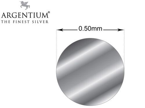 Argentium Argent 935 fil 0.5 mm 0.8 mm 1.0 mm fabrication de BIJOUX FIL