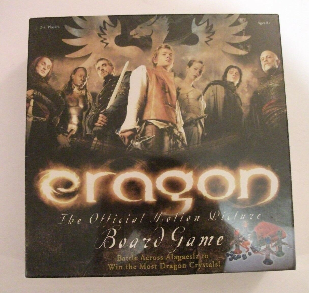 ERAGON THE OFFICIAL OFFICIAL OFFICIAL MOTION PICTURE BOARDGAME BRAND NEW SEALED FREE P&P 5c2138