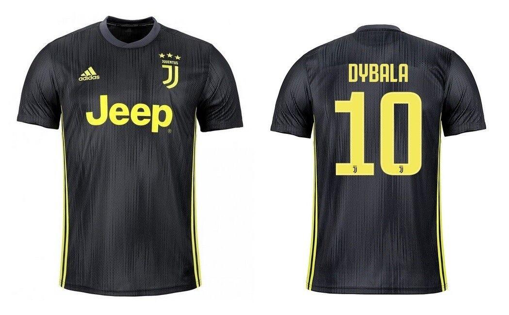 Trikot Adidas Juventus Turin 2018-2019 Third - Dybala 10  | Einfach zu bedienen