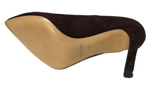 Schuh mit Absatz Gämse upper class Absatz Beschichtet cm 10 Made in Italy