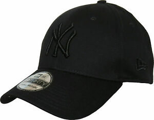 3930 Black Cap League Yankees Basic Era Baseball All Ny New Fit Stretch twIqP00