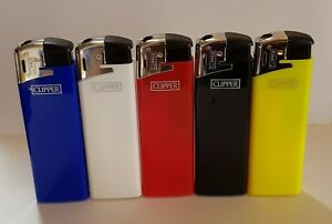 Details about Brand New 5 Clipper Lighters Electric Full Series Unused  Refillable Lighters