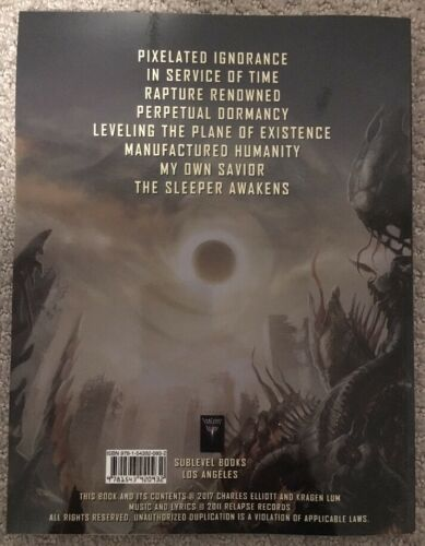 "Guitar Tab Book/"" Autographed New! Abysmal Dawn /""Leveling The Plane Of Existence"