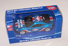 Western Bulldogs 2014 AFL Collectable Toyota 86 Coupe Model Car New