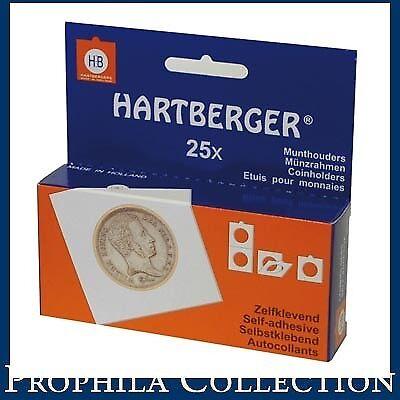 Flight Tracker Lindner 8320395 Hartberger®-coin Holders-pack Of 25