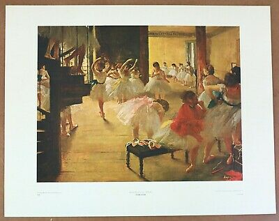 ART PRINT Ballet School by Edgar Degas