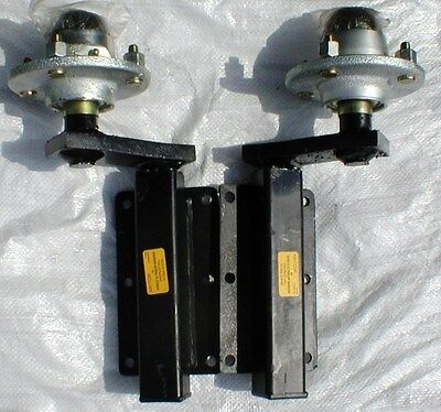 500kg Indespension Kaytow Trailer Suspension Units with 4 inch pcd Hubs