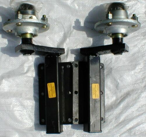 350kg Suspension Units with 4 inch PCD Hubs