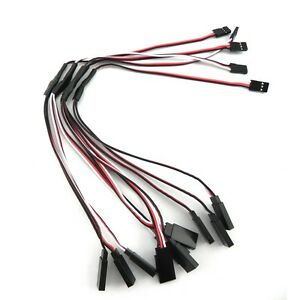 5x-RC-Servo-Y-Extension-Cord-Cable-Wire-300mm-for-JR-Futaba-I