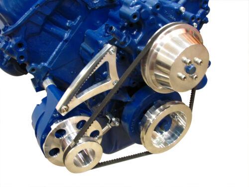429 460 Ford Low Mount Alternator Bracket Billet Aluminum Big Block BBF 385
