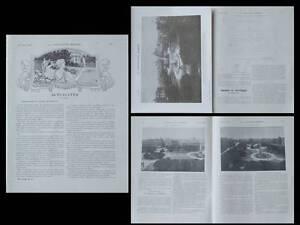 LA CONSTRUCTION MODERNE n°42 1907 BUENOS AIRES, PLAZA DE MAYO - France - Librr La Construction moderne - n42 - 1907 contient deux pages et deux planches sur la Plaza de Mayo Buenos Aires (lancement d'un concours pour un monument) nombreux plans et photographies en noir et blanc 24 x 31 cm - 12 pages et 2 planches hors - France