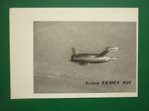 1950 /'S PUB RENE LEDUC ET FILS AVION LEDUC 021 ORIGINAL FRENCH AD