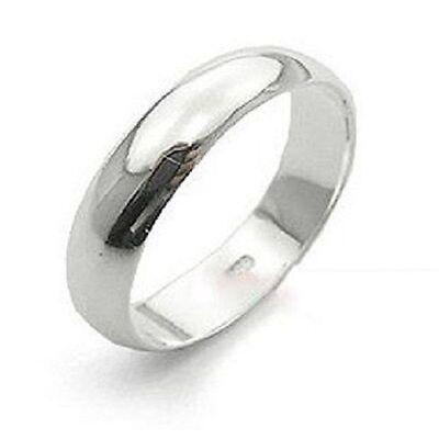 Classic 6mm titanium band ring, multiple sizes