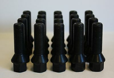 M14 X 1.5 45MM RADIUS ALLOY WHEEL BOLTS /& LOCKING FIT AUDI TT MK1 98-05