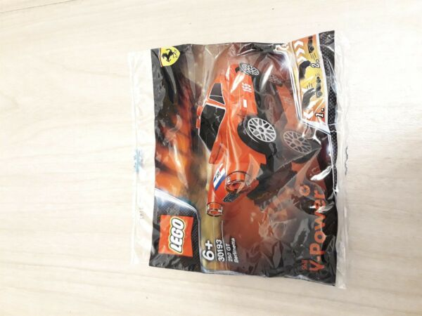 Affidabile Lego Racers Shell V-power 30193 250 Gt Berlinetta Nuova Imbustata Fabbricazione Abile