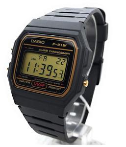 Reloj de pulsera, Casio F-91 WG Digital, Relojes Multifuncion ORIGINAL envío 48h