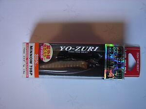 Yo-Zuri-3DS-70SP-Prism-Minnow-Suspending-Lure-F962-HHWS-Holo-Ayu-2-3-4-034-1-4-oz