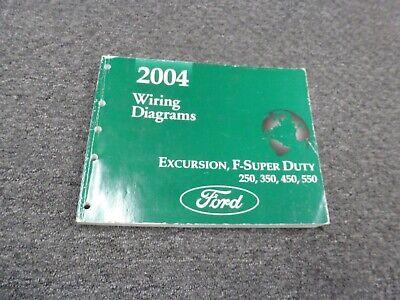 2004 Ford F550 Super Duty Truck Electrical Wiring Diagrams Manual XL XLT  Lariat | eBay | Ford F 550 Truck Wiring Diagrams |  | eBay