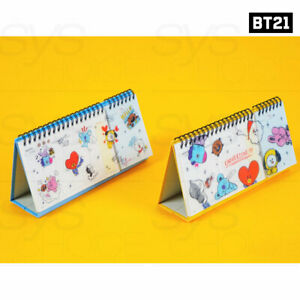 BTS BT21 Official Authentic Goods Weekly Planner By Kumhong + Tracking Number