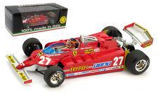 Brumm R487-CH Ferrari 126CK Long Beach USA GP 1981 - G Villeneuve 1/43 Scale