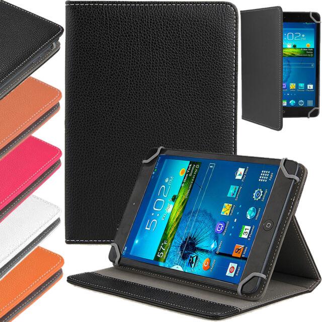 RIPIEGHEVOLE UNIVERSALE CUSTODIA COVER a flip in pelle per Android Tablet PC 7