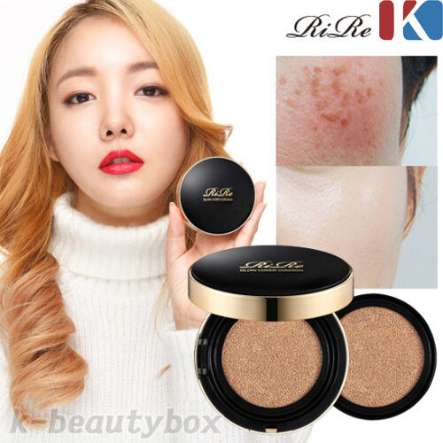 Rire Luxe Glow Perfect Cover Air Cushion Spf50 Pa 15g Foundation Bb Cream