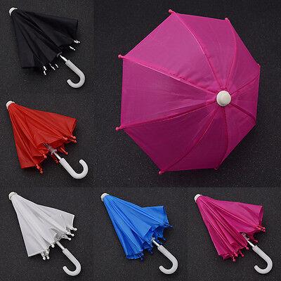 "Doll Umbrella 18/"" Beautiful Girl Multicolor DIY Doll Accessories New Kids Toys"