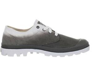 Palladium Homme 02885-082-M BLANC OX Chaussures Confort Métal Fade Gris UK 6