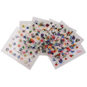 10-Hojas-3D-Arte-en-Unas-Flores-Pegatinas-de-Unas-corazon-de-la-Estrella-Tatuajes-Telefono-Celular