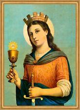 Heilige Barbara Schutzheilige Nothelfer Bergleute St. LW Sankt A2 0095