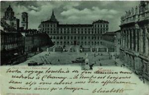 CPA-Torino-Piazza-Castello-e-Palazzo-Reale-ITALY-542839
