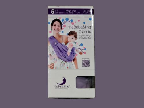Colour Lavender  3.5-15kg//0-2yrs theBabasling Classic Baby Carrier Brand New