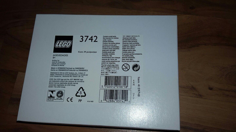 LEGO 3742 lego my own own own bausatz für den tender der lok