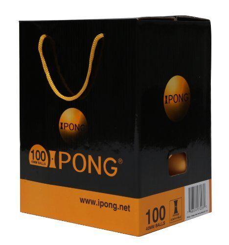iPong iPong Balls 100 Count - Orange NEW