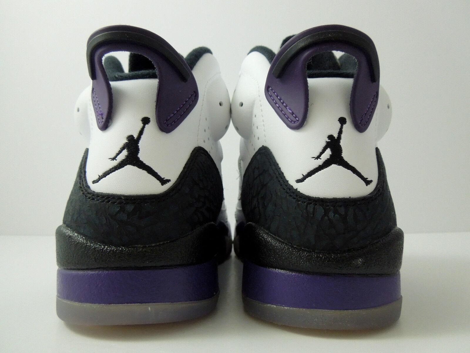 Nike air jordan, jordan, air sohn des mars Weiß-club purple-Grau-schwarz sz 7.5 [512245-106] ba3a1a