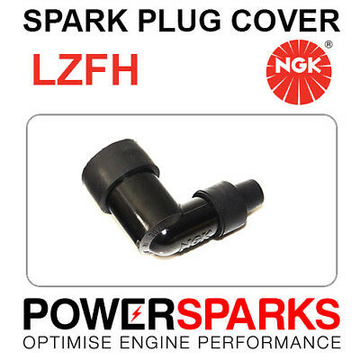 Black 8060 Free P/&P 90° With Resistor No NEW NGK Spark Plug Cap // Cover LD05F