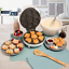 Animal Mini Waffle Maker 7 Different Shaped Pancakes  Electric Non Stick Waffler