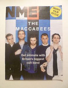 NME FREE 20 NOVEMBER 2015  THE MACCABEES - edinburgh, Edinburgh (City of), United Kingdom - NME FREE 20 NOVEMBER 2015  THE MACCABEES - edinburgh, Edinburgh (City of), United Kingdom